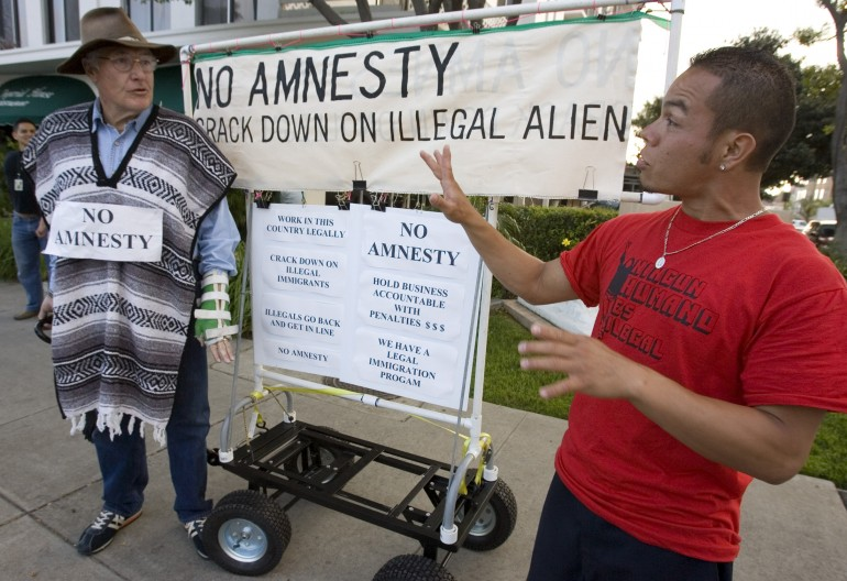 amnesty for illegal immigrants Under president obama's administration, amnesty for illegal immigrants would also take the blanket amnesty form, pardoning illegal immigrants for the act of illegal immigration.