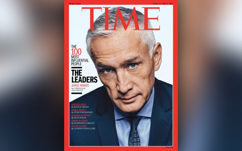 Jorge Ramos Time 100 Most Influential