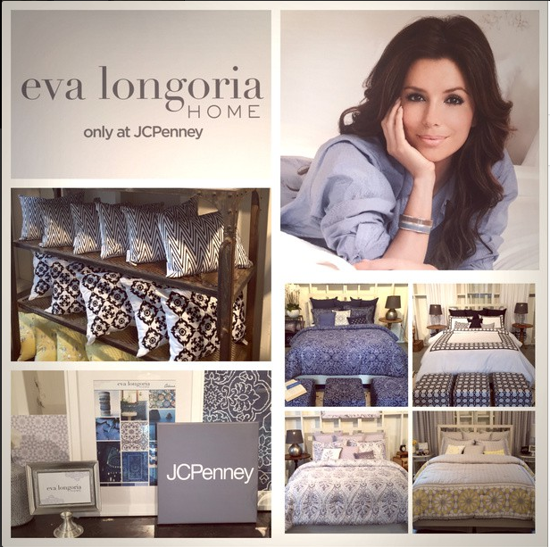 Eva Longoria Home Collection Actress Launches New Line With Jcpenney Photos