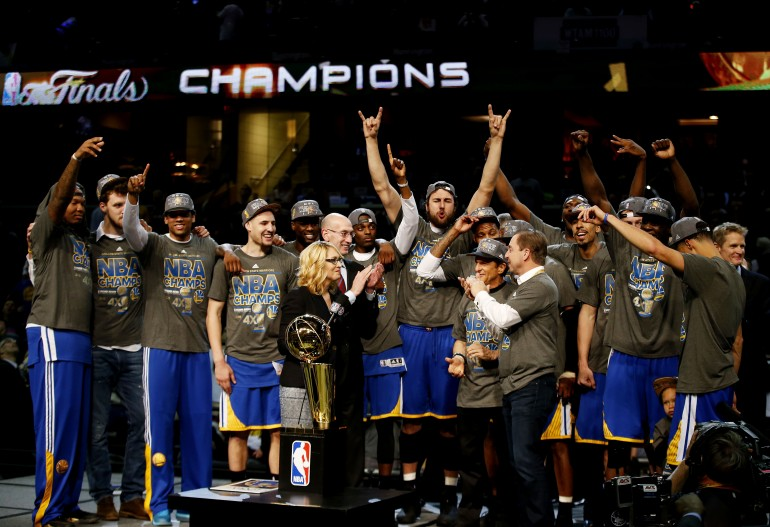 Golden State Warriors Win First Title in 40 Years