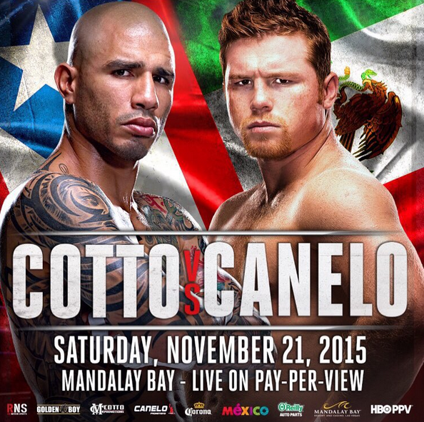 canelo vs cotto date