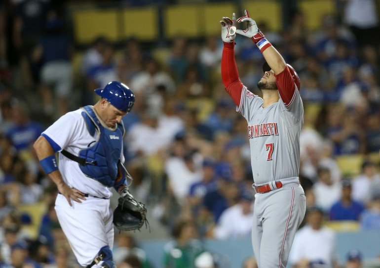 Reds Rough Up Dodgers