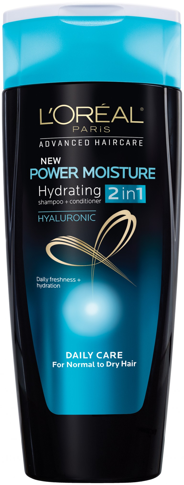L'Oreal Paris Advanced Haircare Power Moisture 2 in 1 Shampoo and Conditioner