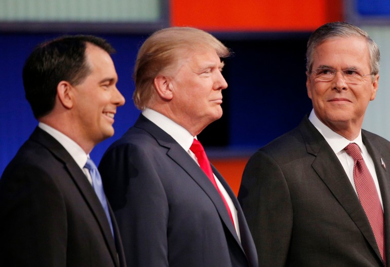 jeb, scott, donald