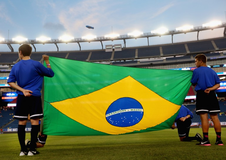 Brazil blows out United States