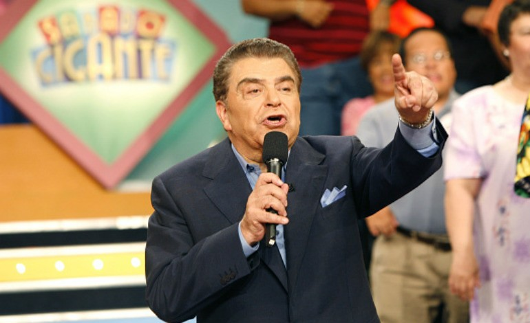 Don Francisco during 20-Year Anniversary Program of Sabado Gigante at Univision Studios in Miami, Florida, United States. Photo by Rodrigo Varela/WireImage