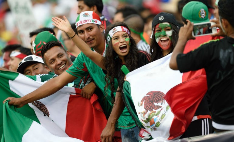 Mexico fans soccer