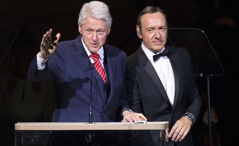 Bill Clinton & Kevin Spacey