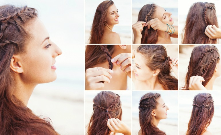 Fall-in-Love-by-Day Braided Hairstyle