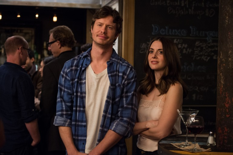 Anders Holm and Allison Brie