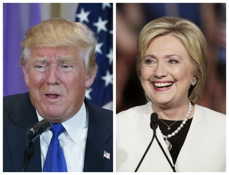 hillary clinton dnald j trump super tuesday results