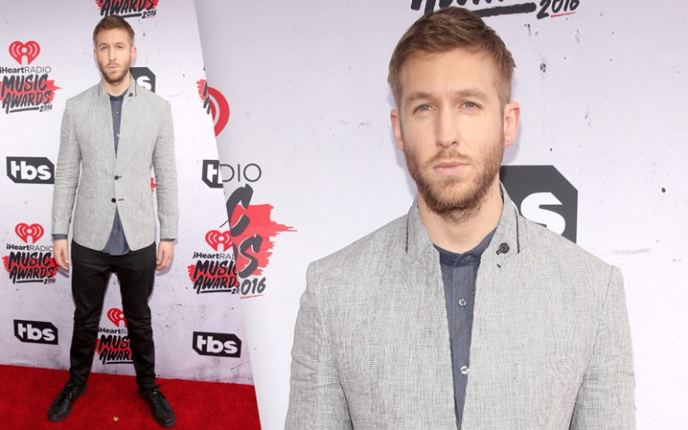 iHeartRadio Music Awards 2016 Red Carpet Photos: Calvin Harris