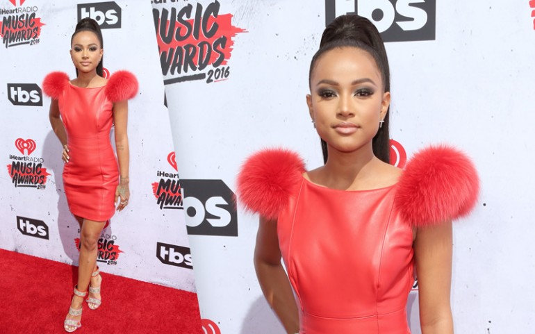 iHeartRadio Music Awards 2016 Red Carpet Photos: Karrueche Tran