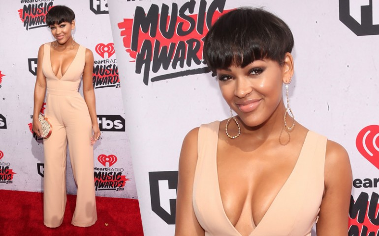iHeartRadio Music Awards 2016 Red Carpet Photos: Meagan Good