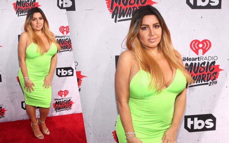 iHeartRadio Music Awards 2016 Red Carpet Photos: Mercedes Javid