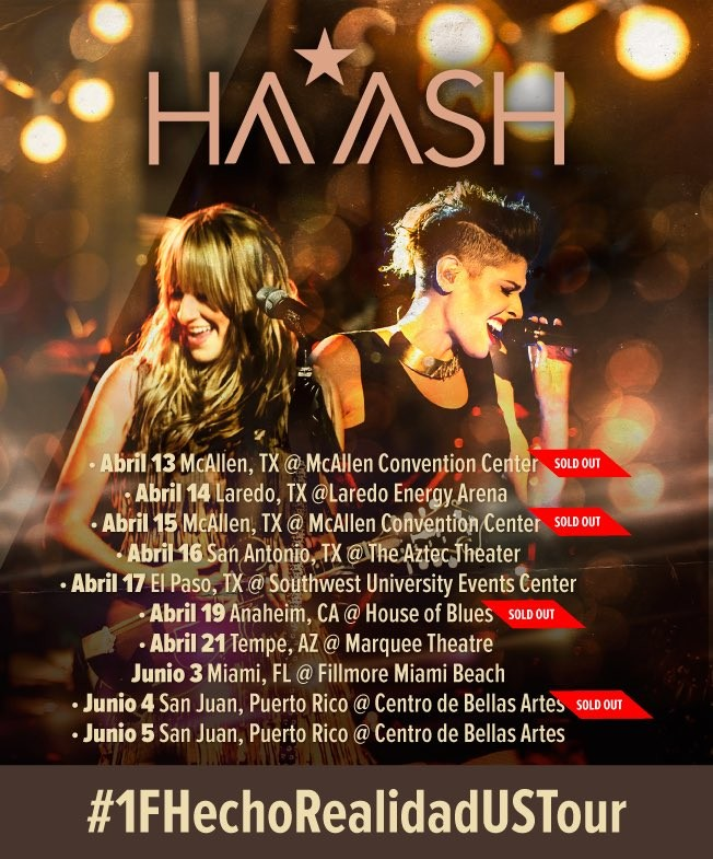 Ha*Ash US Tour: Mexican Duo Kick Off Gigs With Sold-Out Shows ...