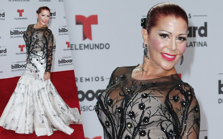 Premios Billboard 2016 Red Carpet Photos: Alejandra Guzman