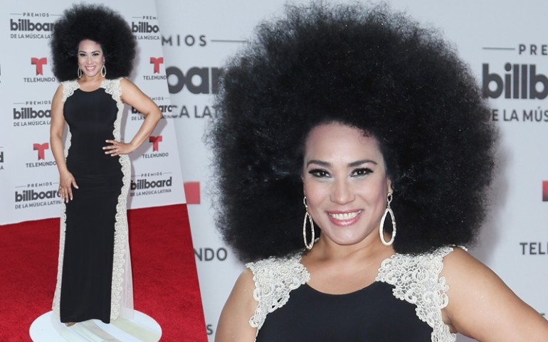 Premios Billboard 2016 Red Carpet Photos: Aymee Nuviola