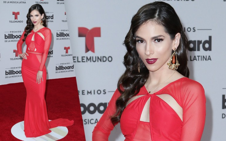 Premios Billboard 2016 Red Carpet Photos: Paty Cantú