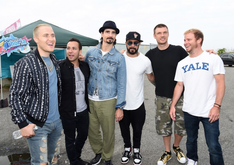 Backstreet Boys and Mike Posner