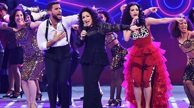 Gloria Estefan and Ana Villafañe