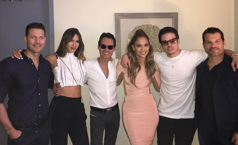Shannon de Lima, Marc Anthony, Jennifer Lopez, Casper Smart