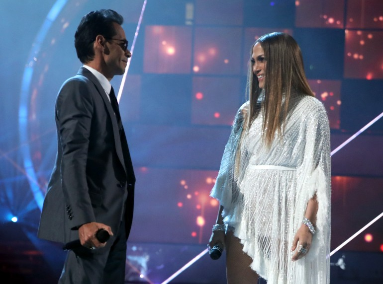 Marc Anthony, Jennifer Lopez