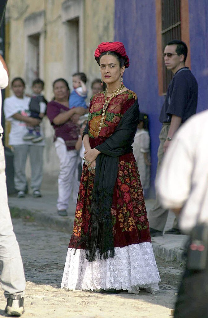 Salma Hayek as 'Frida Kahlo'