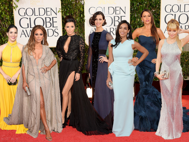 Latinas on the red carpet