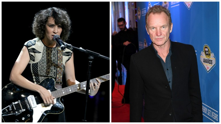 Gaby Moreno and Sting