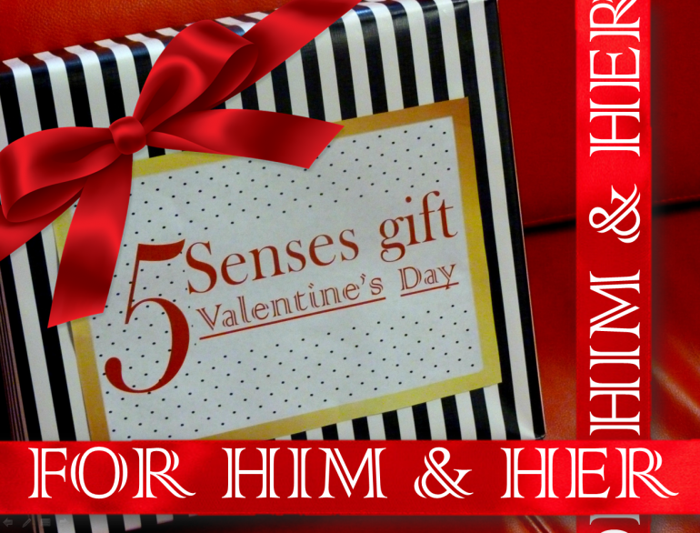 Valentine S Day Gifts Enhance His Her 5 Senses With These Sensual
