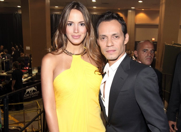 Shannon De Lima and Marc Anthony