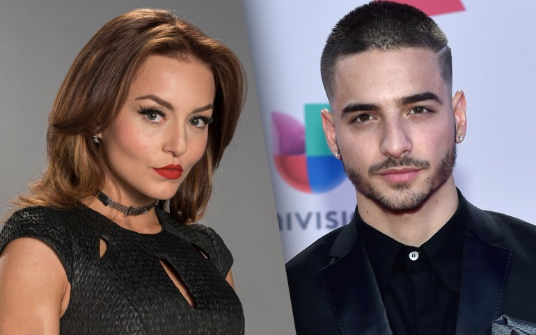 Angelique Boyer, Maluma
