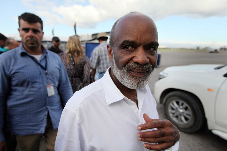Former president of Haiti Rene Preval dies at the age of 74