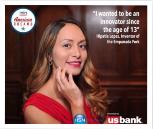 Hipatia Lopez, CEO, Inventor and Founder of Empanada Fork
