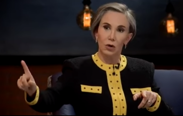 doña florinda got upset in an interview refused to talk about