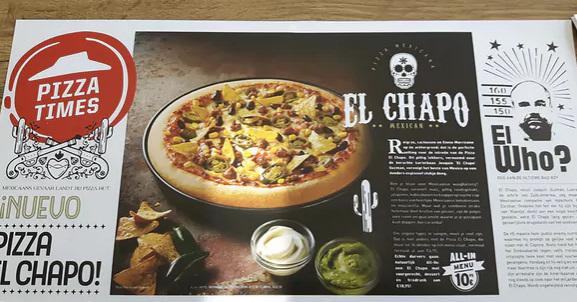Pizza Hut EL CHAPO