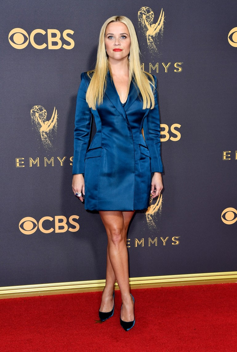 Emmys 2017 Red Carpet Photos: Reese Witherspoon