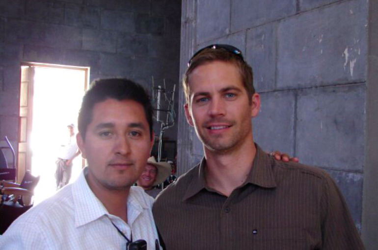 Carlos Munoz and Paul Walker
