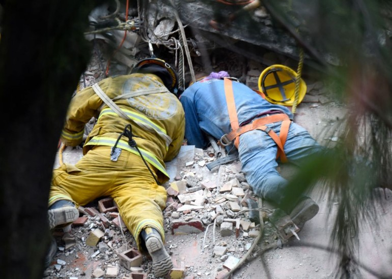 Mexico natural disaster : Death toll rises to 319