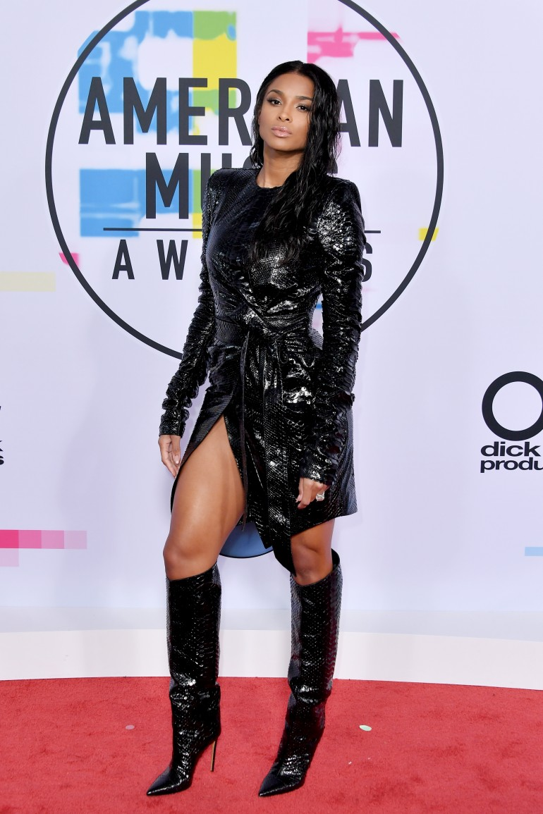 AMAs 2017 Red Carpet Photos: Ciara