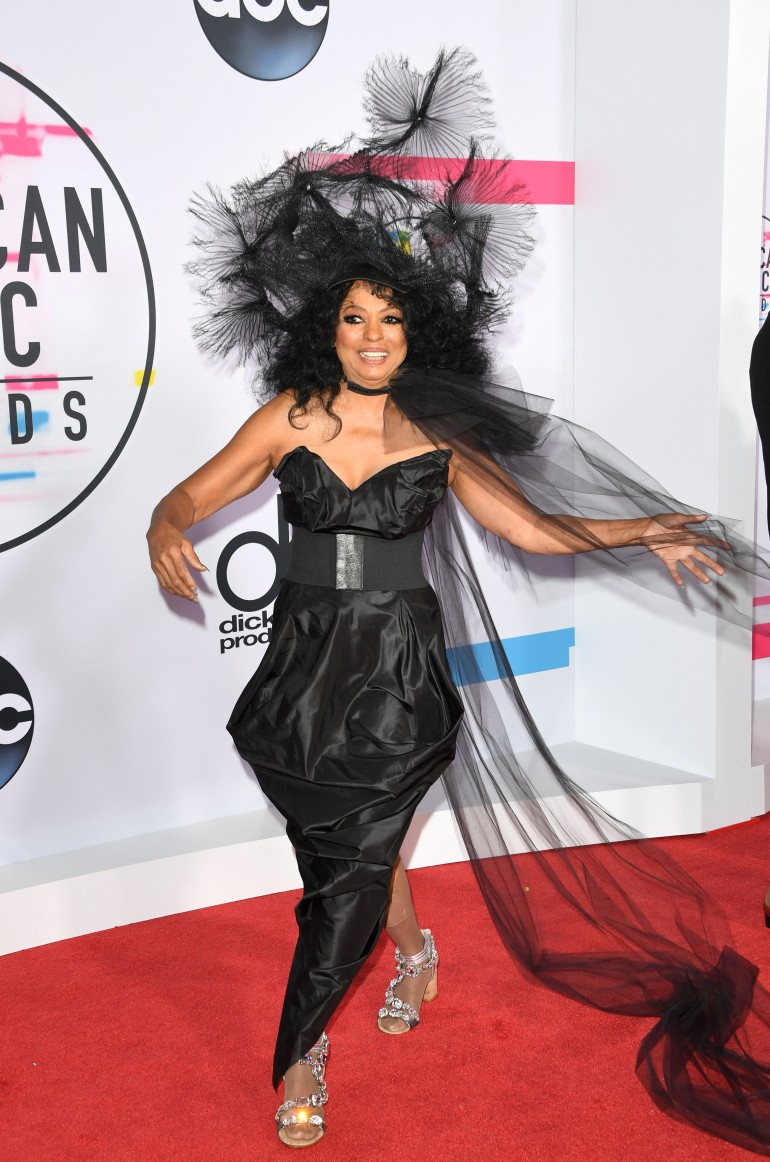 AMAs 2017 Red Carpet Photos: Diana Ross