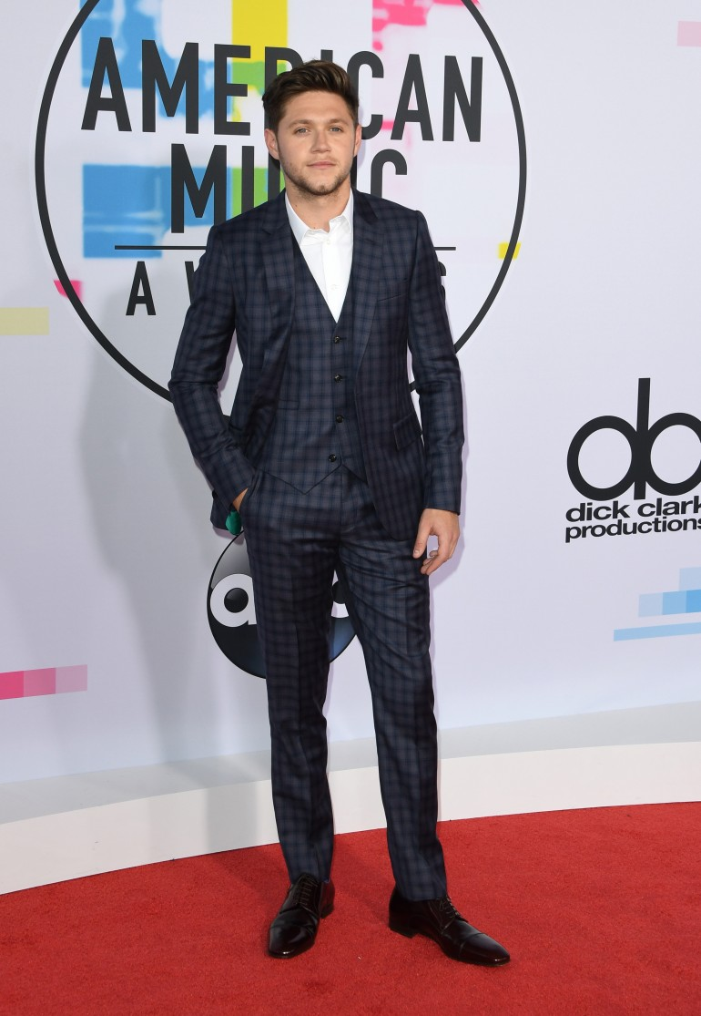 AMAs 2017 Red Carpet Photos: Niall Horan