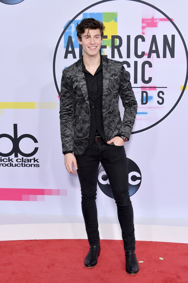 AMAs 2017 Red Carpet Photos: Shawn Mendes