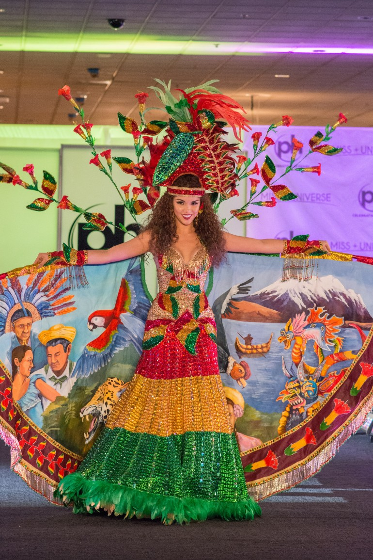 Miss Universe 2017 National Costume Photos: Bolivia