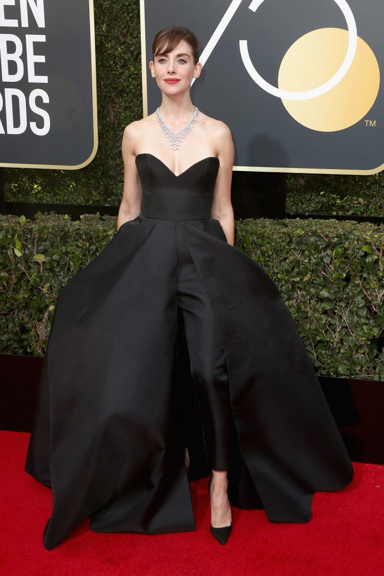 Golden Globes 2018 Red Carpet Photos: Alison Brie