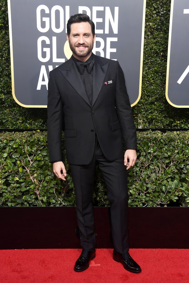 Golden Globes 2018 Red Carpet Photos: Edgar Ramírez