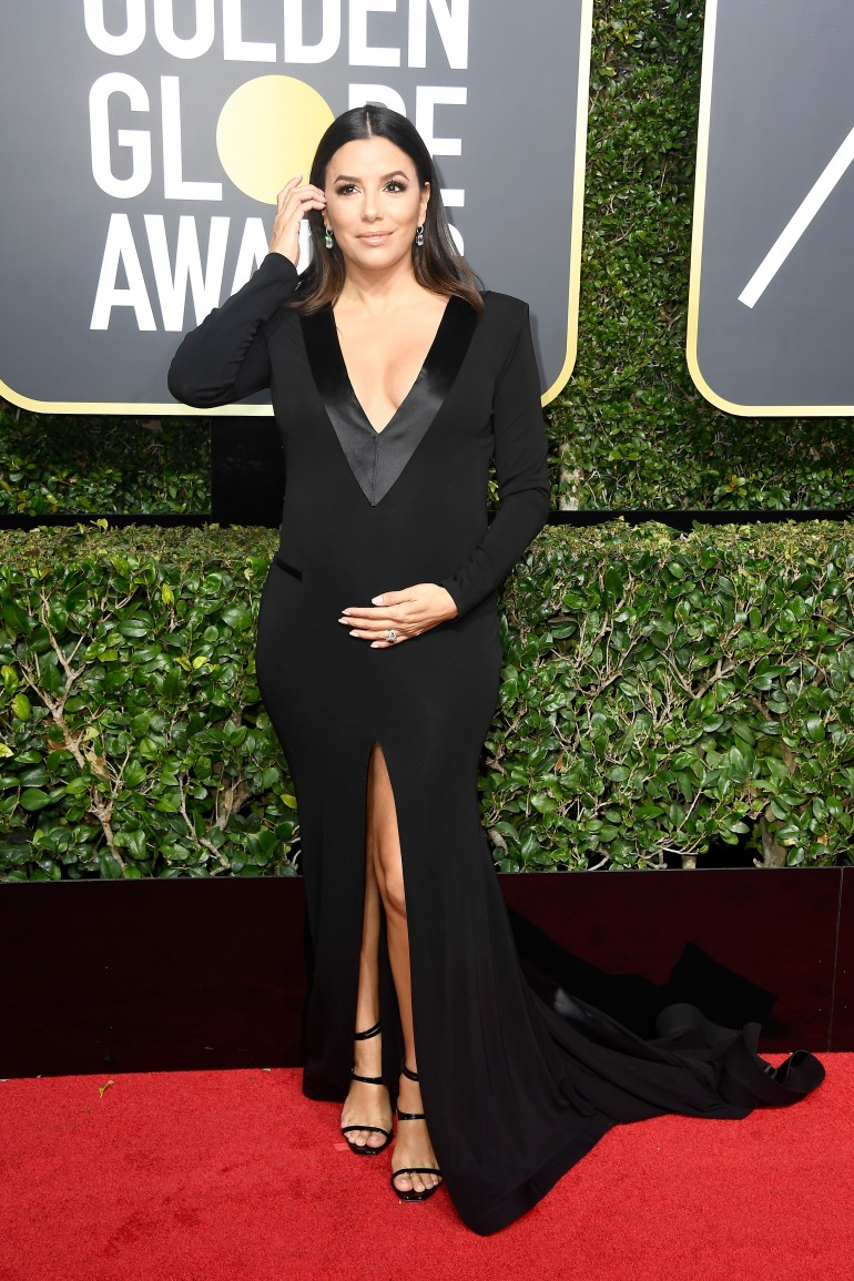 Golden Globes 2018 Red Carpet Photos: Eva Longoria