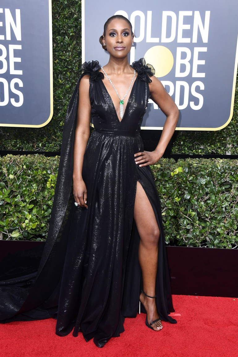 Golden Globes 2018 Red Carpet Photos: Issa Rae