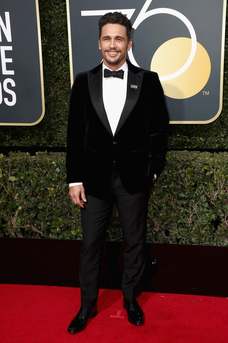 Golden Globes 2018 Red Carpet Photos: James Franco
